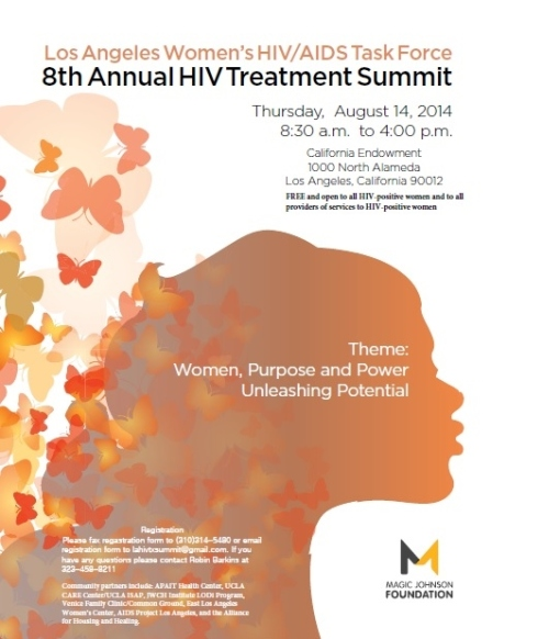 08/14/14: Los Angeles Women's HIV/AIDS Task Force | 8th Annual HIV Treatment Summit