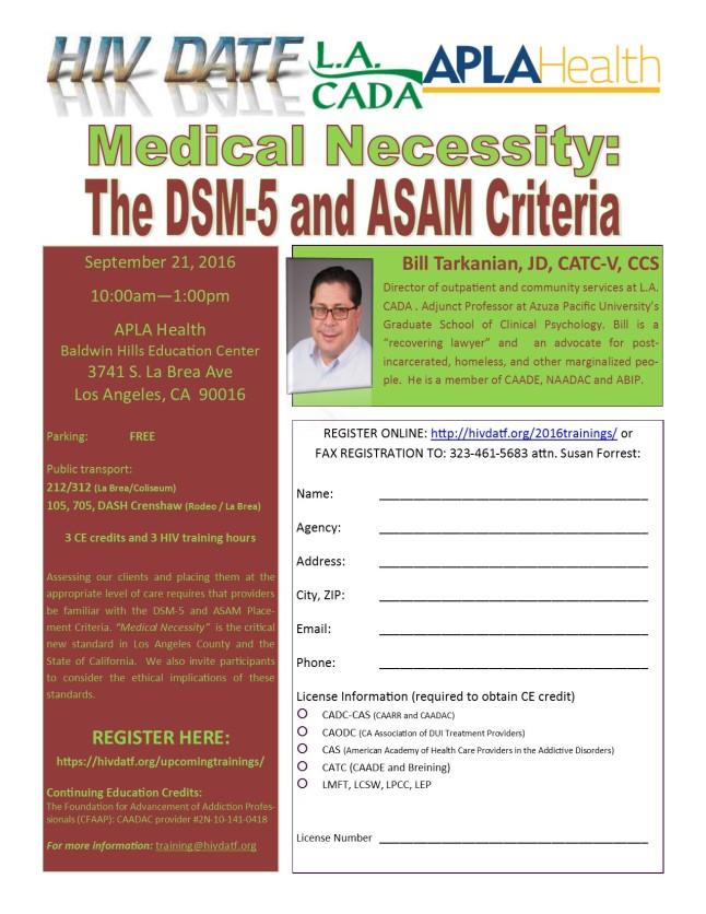 09-21-16 DSM-5 ASAM flyer